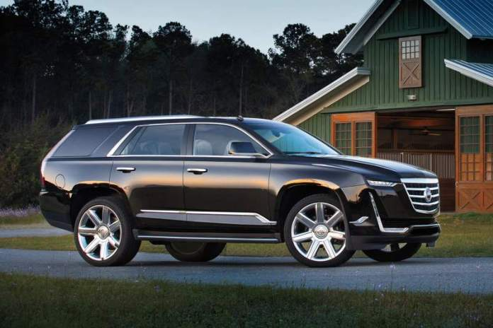 New Cadillac Escalade - 7-seater SUV