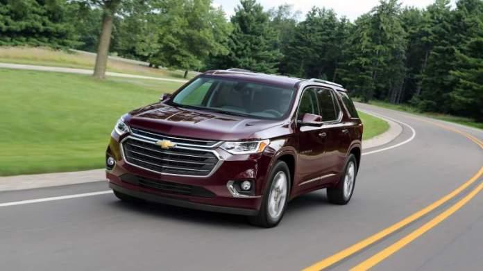 New Chevrolet Traverse