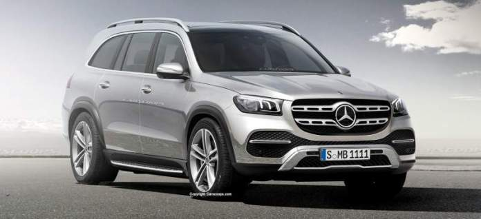 New Mercedes-Benz GLS - 7-seater SUV