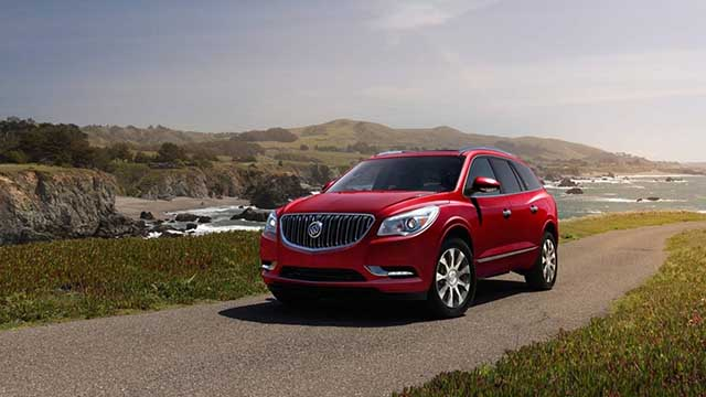 2020 Buick Enclave new colors