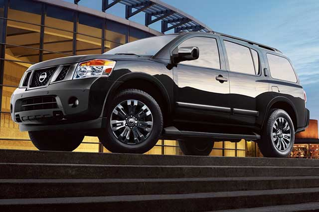 2020 Nissan Armada changes