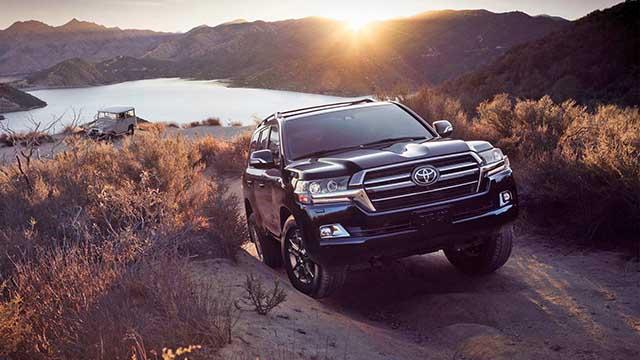 2020 Toyota Land Cruiser new model