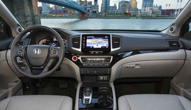 2020 honda pilot interior changes