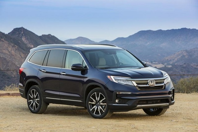 2020 honda pilot elite redesign