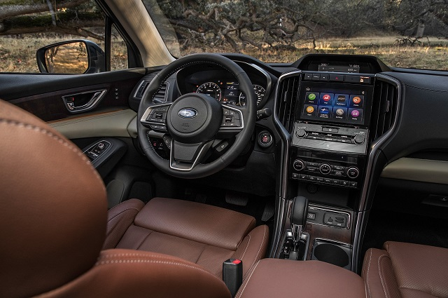 2020 Subaru Ascent interior