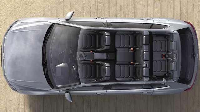 2020 Volkswagen Tiguan Allspace interior