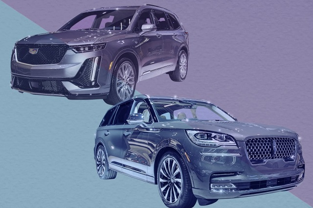 2020 Cadillac XT6 vs lincoln aviator