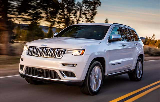 2020 Jeep Grand Cherokee redesign