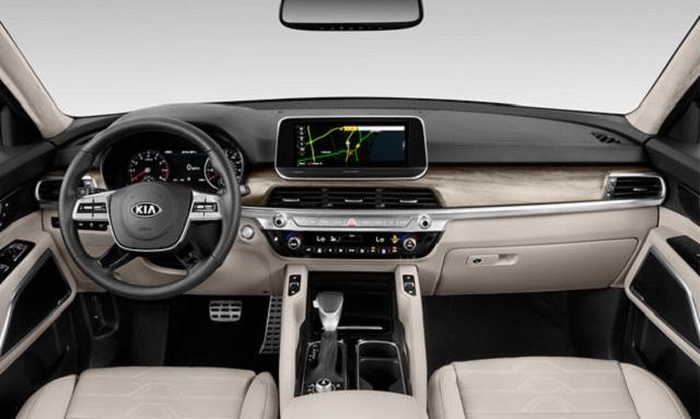 2020 Kia Telluride interior features