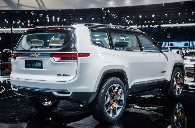 2021 Jeep Grand Wagoneer Concept Rear
