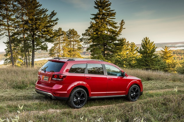 2020 Dodge Journey rear view