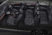 2021 Honda CR-V 7seat interior