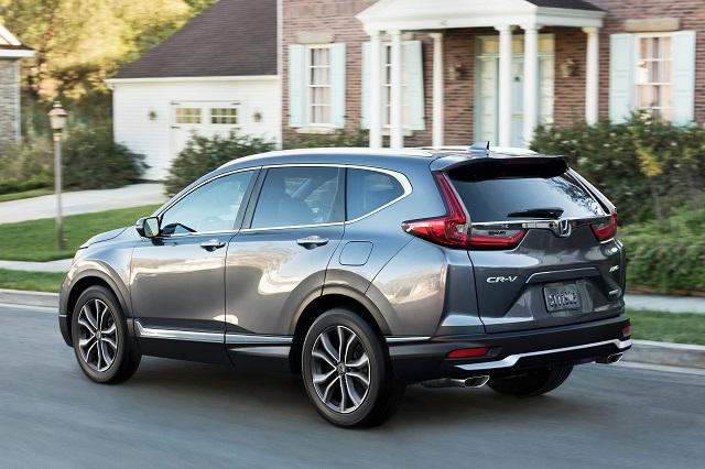 2021 Honda CR-V release date