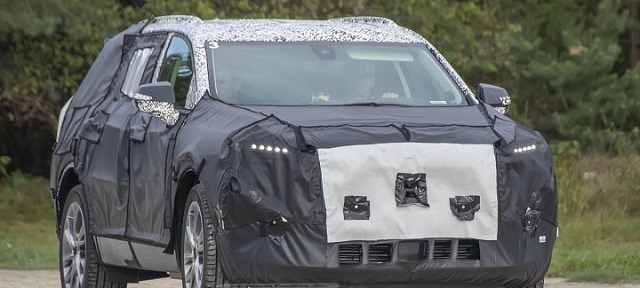 2021 GMC Envoy Spy Shot