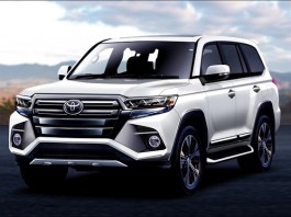 2021 Toyota Land Cruiser Hybrid Rendering