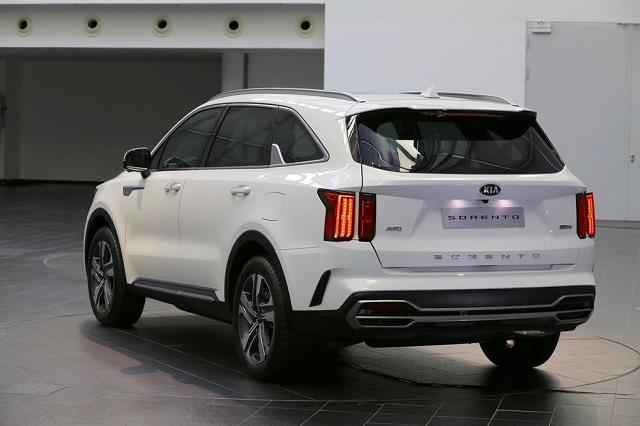 2021 Kia Sorento Hybrid mpg