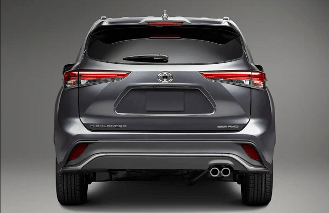 2021 Toyota Highlander XSE rear