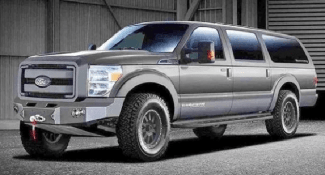 2021 Ford Excursion Rendering image