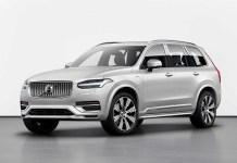 2022 Volvo XC90 render