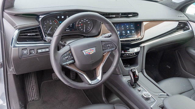 Cadillac XT6-V interior