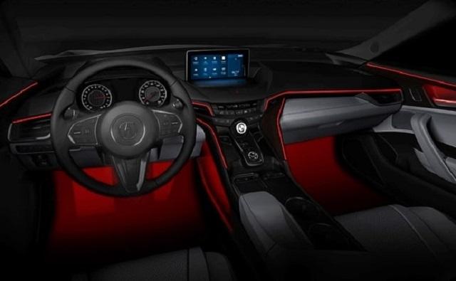 2022 Acura MDX interior rendering