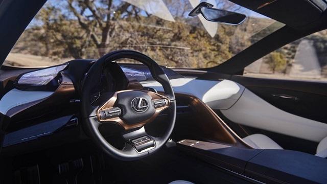 2022 Lexus LX Interior rendering