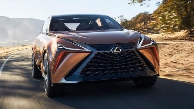 2022 Lexus LX Render