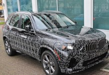 2022 BMW X5 spy shot