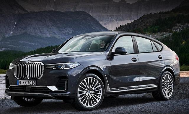2022 BMW X8 Render