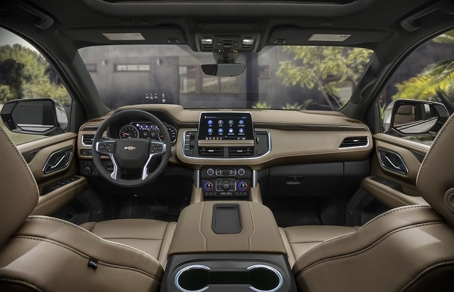 2022 Chevrolet Suburban Diesel Interior