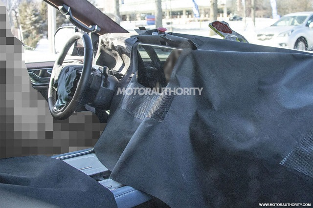 2022 Lincoln Navigator Interior Spy shot