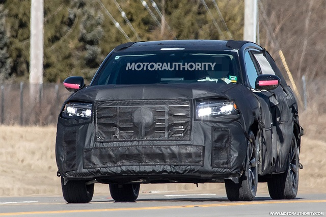2023 Honda Pilot Spy Photo