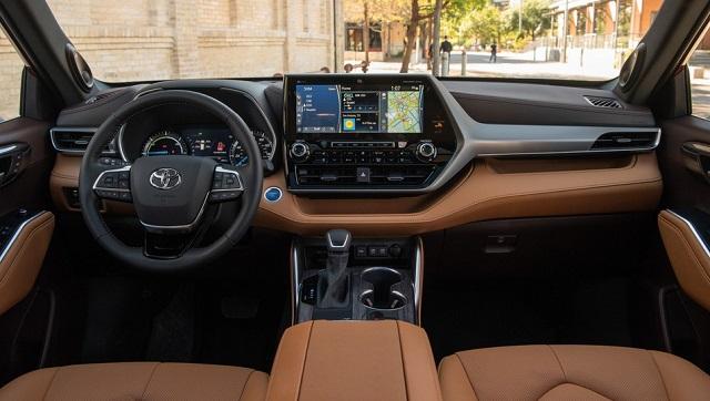 2022 Toyota Grand Highlander Interior