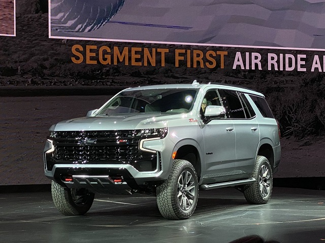 2022 Chevy Tahoe Z71 features