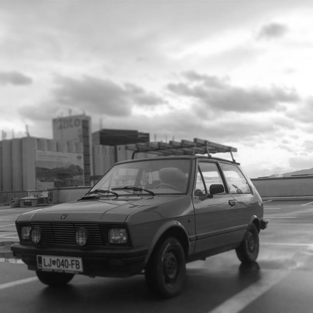 Seen on our streets Zastava Yugo koral 45 yugo zastavahellip