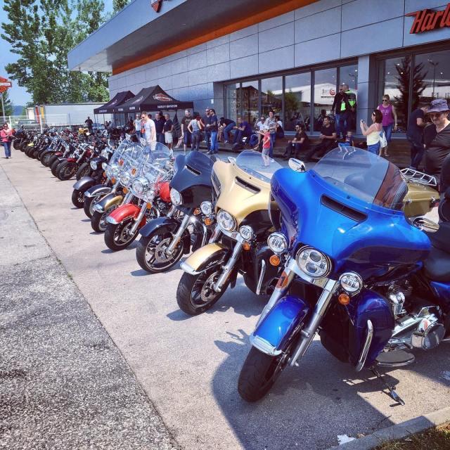 Harley tour in Ljubljana hd harley harleydavidson 77 77c 7sevencustomshellip
