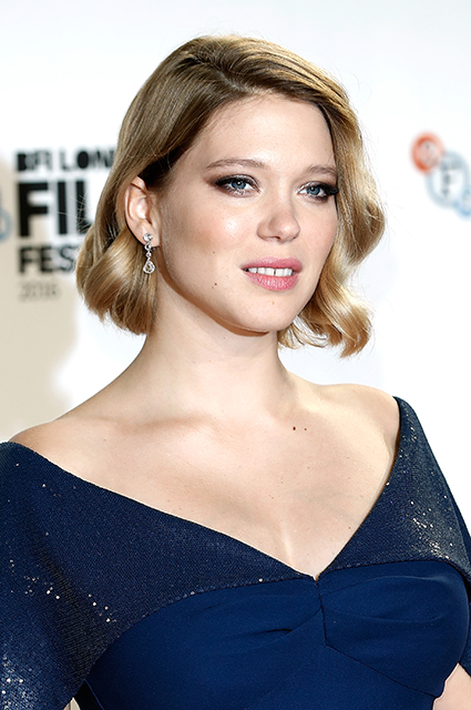 LONDON, ENGLAND - OCTOBER 14: Lea Seydoux attends the 'It's Only The End Of The World' BFI Flare Special Presentation screening during the 60th BFI London Film Festival at Odeon Leicester Square on October 14, 2016 in London, England. (Photo by John Phillips/Getty Images for BFI)