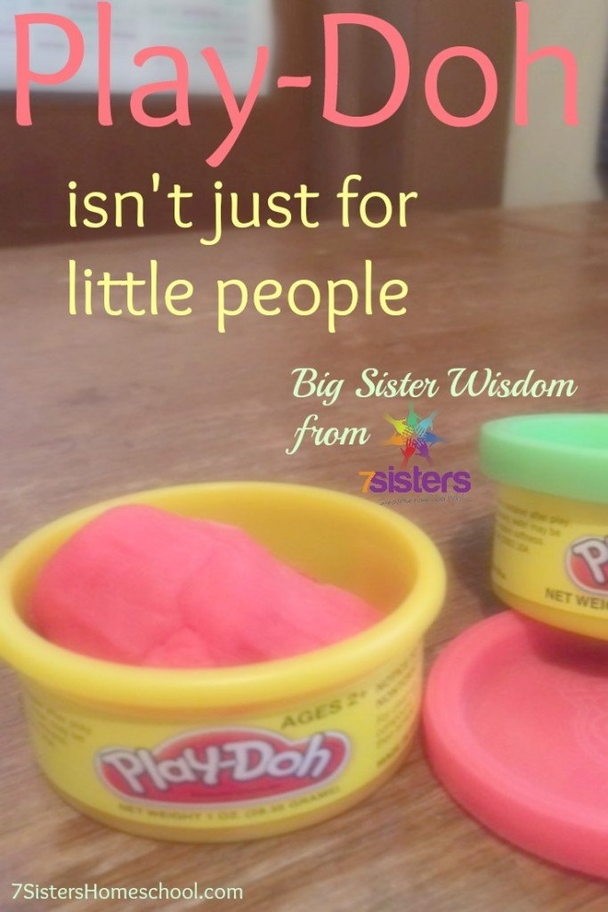 Playdoh isn't just for little people