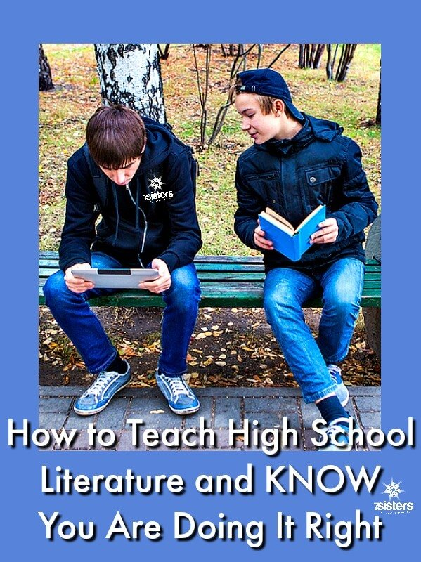 How to Teach High School Literature and KNOW You Are Doing It Right