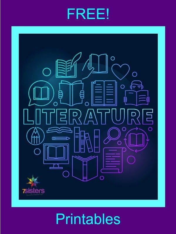Free Printables for Literature Analysis