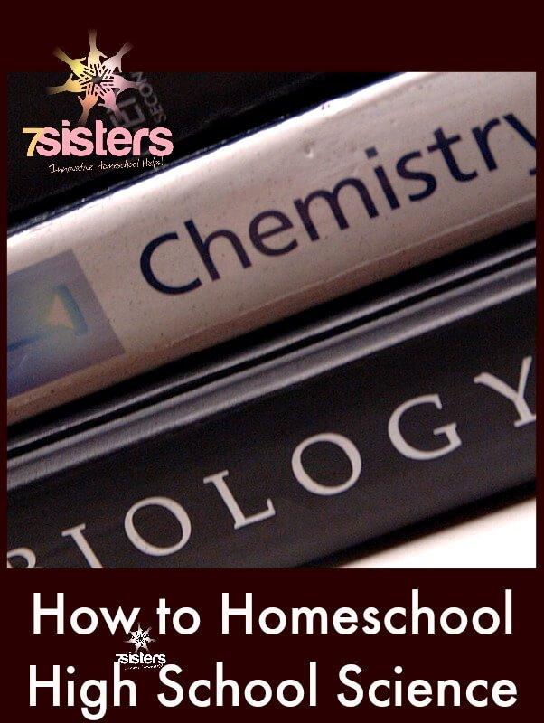How to Homeschool High School Science