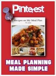 Dr. Melanie Wilson Shares on Pinterest Meal Planning