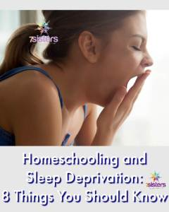 Homeschooling and Sleep Deprivation: What You Should Know 7SistersHomeschool.com Help your teen with sleep hygiene.