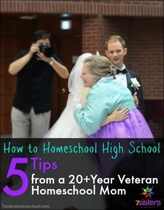 How to homeschool high school - Proven tips from a 20+year veteran homeschool mom of 5
