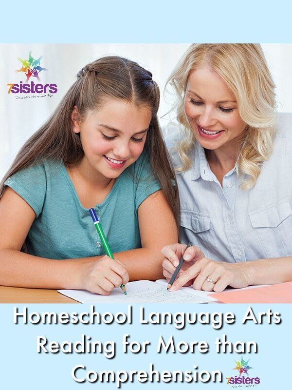 Homeschool Language Arts - Reading for More than Comprehension
