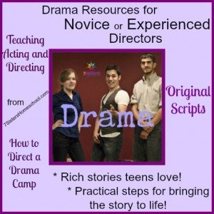 Homeschool Drama Resources from 7SistersHomeschool.com