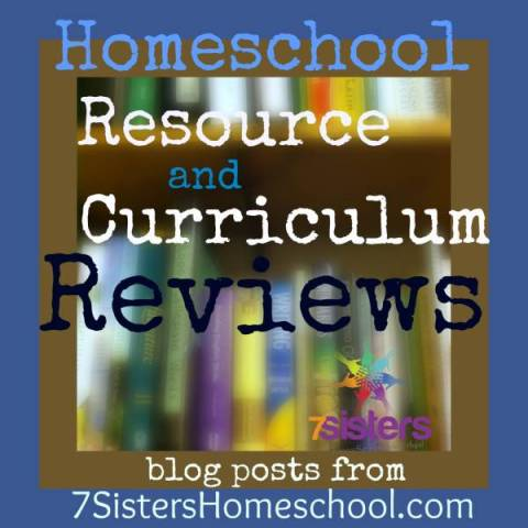 Homeschool Curiculum: read reviews from 7SistersHomeschool.com