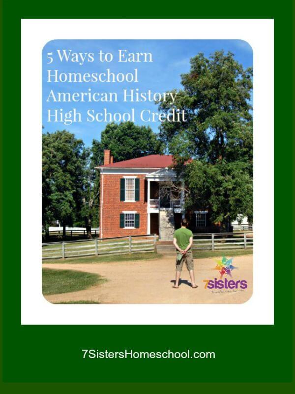 II-5-Ways-to-Earn-Homeschool-American-History-High-School-Credit