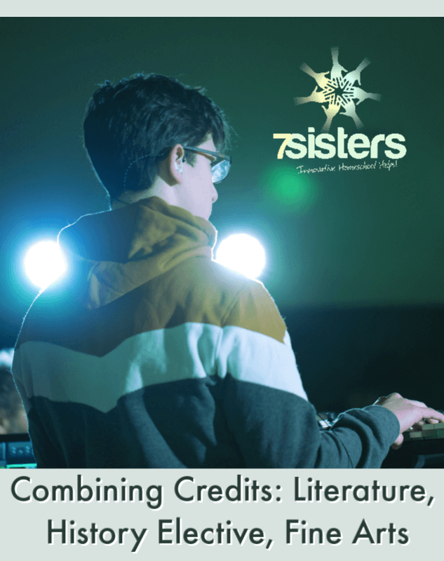 Combining Credits: Literature, History Elective, Fine Arts. Build a strong transcript and make the most of your homeschool high schoolers' time by aligning topics.
