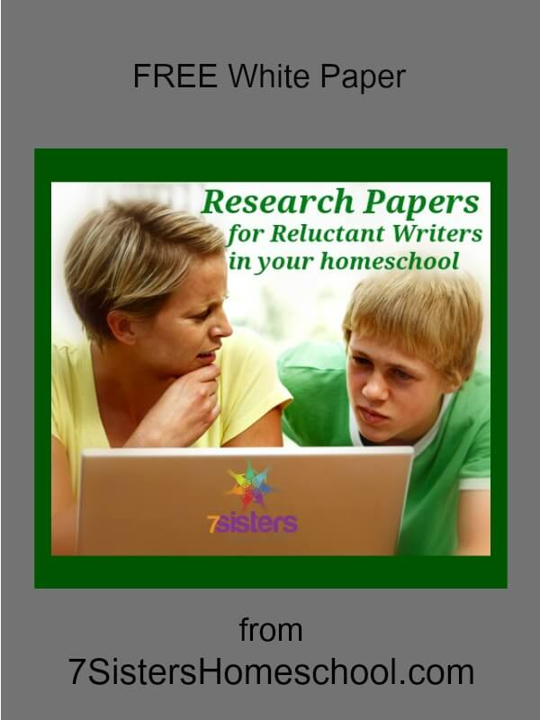 Research Papers for Reluctant Teens